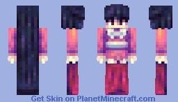 Kaguya Houraisan (with timelapse) Minecraft Skin
