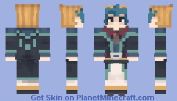 Kite/Kaito Tenjo (Yugioh ZEXAL) Minecraft Skin
