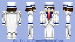 Kaito Kid Minecraft Skin