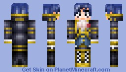Haihahaini Kaito from Vocaloid Minecraft Skin