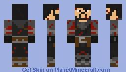 dragon age 2 Minecraft Skin