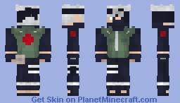Kakashi Hatake (Naruto/Shippuden) (1.8) Minecraft Skin
