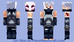 𝕂𝕒𝕜𝕒𝕤𝕙𝕚 ℍ𝕒𝕥𝕒𝕜𝕖 Anbu days Minecraft Skin