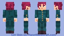 Noriaki Kakyoin - JoJo's Bizarre Adventures [Stardust Crusaders] Minecraft Skin