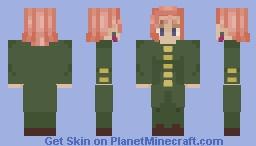 Kakyoin Minecraft Skin