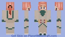 Kakyoin Pt4 Minecraft Skin