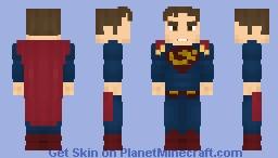 Kal-El/Clark Kent (Supergirl) - CW Minecraft Skin