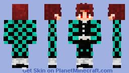 Kamado Tanjirou Minecraft Skin
