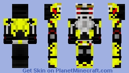 Kamen Rider Zero-One FinalVenting Ryuki Minecraft Skin