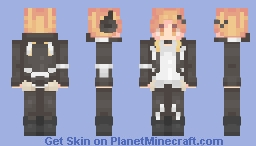 BNHA: Kaminari/Chargebolt (Uniform and Gym Outfit Included!) Minecraft Skin