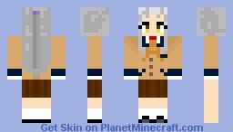 Kanade Tachibana-AngelBeats! Minecraft Skin