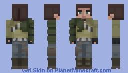 Star Wars: Kanan Jarrus Minecraft Skin