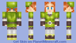 Karane (Skyward Sword) Minecraft Skin
