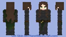 [LotC] Female Armour with Cape Minecraft Skin
