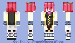 Kasen Ibaraki (Oni Form) Minecraft Skin
