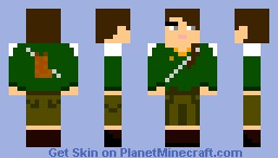 Katniss Everdeen Minecraft Skin
