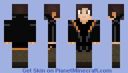 Katniss Everdeen (Arena Clothes (Hood up)) Minecraft Skin