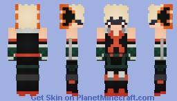 Katsuki Bakugo (My Hero Academia) Alts. Included! Minecraft Skin