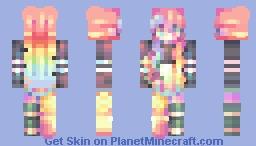 . a thousand colors // fs // sfa . Minecraft Skin