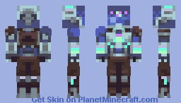 KAY/O Minecraft Skin