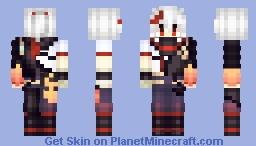 Genshin impact Kazuha Minecraft Skin