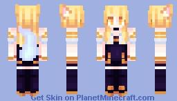 League Of Legends || Ahri || K/DA Minecraft Skin