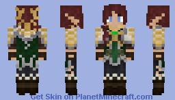 [Dwarves vs. Zombies] Lady Lorelei Minecraft Skin