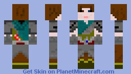 Human Fighter Minecraft Skin