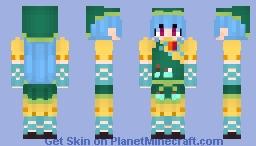 Keiki Haniyasushin (埴安神 袿姫) from Touhou 17: Wily Beast and Weakest Creature (東方鬼形獣) Minecraft Skin