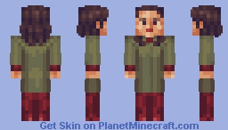 Keiko O'Brien Star Trek TNG/DS9 Minecraft Skin