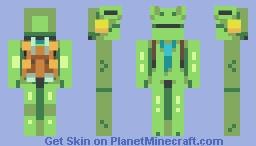 Kaeru (Kero Blaster) Minecraft Skin