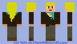 Skylar (Saboteur) (3D details!) Minecraft Skin