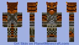 Khajit dragonborn Minecraft Skin