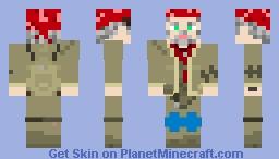 Khan, Metro 2033/Last Light Redux Minecraft Skin