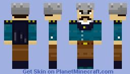 Military Officer 19th century Minecraft Skin