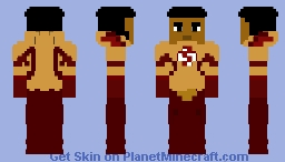 Wally West (The Flash) Season 3 — Unmasked - CW Minecraft Skin