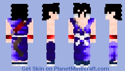 Kid Son Goku Start Of Dragon Ball Minecraft Skin