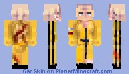 KILL BILL UMA THURMAN Minecraft Skin