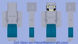 Killer Croc: The Animated Series Minecraft Skin