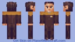 Ensign Harry Kim Star Trek Voyager Minecraft Skin