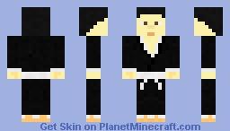 Kimono Samurai Minecraft Skin