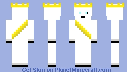 Ghostly King Minecraft Skin
