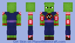 King Piccolo (Dragon Ball) (1.8) Minecraft Skin