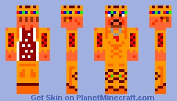 the KINGs skin Minecraft
