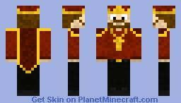 The King Minecraft Skin