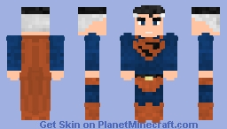 Superman - Kingdom Come Minecraft Skin