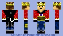 King Slaya Minecraft Skin