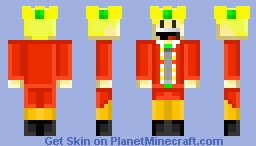 Me as a king! Minecraft Skin