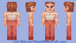 Major Kira Nerys (white shirt) Star Trek DS9 Minecraft Skin