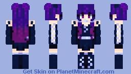 𝓚𝓲𝓻𝓲𝓰𝓲𝓻𝓲 - 𝓪𝓽𝓽𝓪𝓬𝓴! Minecraft Skin